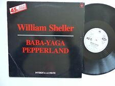 "MAXI 12""  WILLIAM SHELLER Baba yaga / pepperland  sdc 11056 promo"