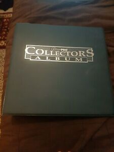 Ultra pro collectors album Ring Binder With 40 9 Pocket Sheets