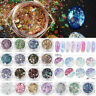 Mix Holographic Nail Art Glitter Powder Dust Acrylic Gel Tips Sequins Decoration