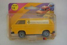 """"""" SIKU """"Modelo - VW TRANSPORTER - POSTEN Vehículo PUBLICITARIO a escala 1331"""