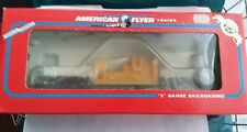 American Flyer Trains CSX Flat Car with Generator Item #6-48513 Boxed