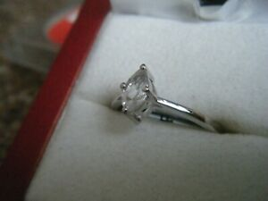White Topaz Silver Ring by Gems TV/Gemporia/TGGC