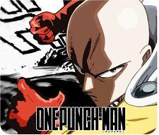 "One Punch Man - Desktop Mouse Pad - 10"" X 8.5"" - Anime Saitama"