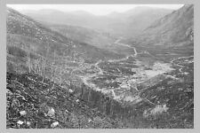 Tasmania LINDA VALLEY viewed from Mount Lyell Mine 1900 rmodern Digital Postcard