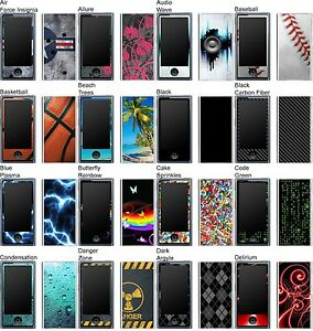 Choose Any 1 Vinyl Decal/Skin for iPod Nano 7th Gen - Buy 1 Get 2 Free!