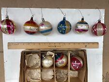 antique glass christmas ornaments pre1946 Poland