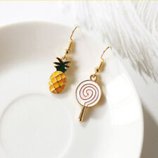 Women Fashion Harajuku Cute Lollipop Pineapple Pendant Earring Jewelry Gift Z