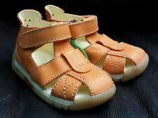 NATURINO baby boys girls shoes orthopedic EU 20 US 4 leather orange New