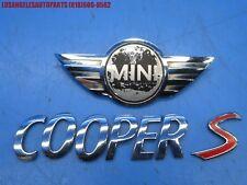 2002-2006 Mini Cooper S R50 R53 Rear Hatch Emblem Badge Logo Decal Oem