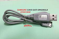 SAMSUNG CAVO DATI ORIGINALE APCBS10BSE S5230 S5550 S5200 I900 E2210 STAR OMNIA