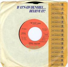45rpm  Jessi Colter FOR THE FIRST TIME / I'M NOT LISA Capitol  4009 white jacket