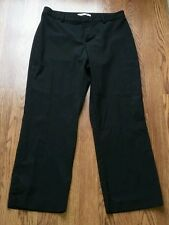 Old Navy Women's Black Cropped Capri Casual Dress Pants Size 6