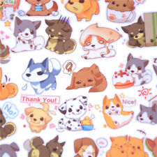 40pcs Self-made Cute Dog Scrapbooking Sticker Poppy Decorative Sticker DIY TZ