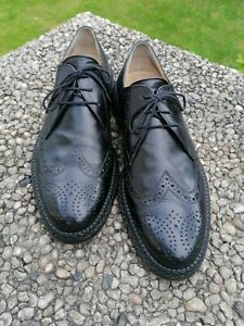 Apollo / Heinrich Dinkelacker Business Leder Schuhe Gr. UK 10 EU 44,5 Zopfrahmen
