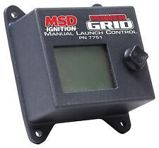 MSD 7751 Launch Controller Manual Rotary Dial MSD Power Grid NEW   OFFER $160!