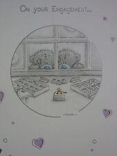 On your Engagement  - Medium -  Tatty Teddy Me to You - Greeting Card