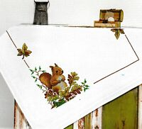 """""""Squirrel"""" Tablecloth Kit for Embroidery Duftin 8044"""