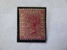 Sierra Leone 1883  1 penny red MNH