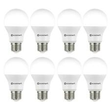 NEW ECOSMART 8PK 60-Watt Equivalent A19 Non-Dimmable LED Light Bulb Daylight
