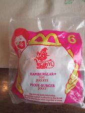 McDonalds  Toy # 6 Halloween 1998 HAMBURGLAR CANDY Dispenser SEALED NEW