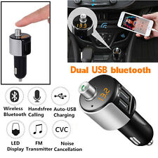Car Bluetooth Kit FM Transmitter Wireless USB Charge Charger Adapter MP3 Player