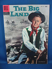 Four Color #812 - The Big Land (Aug 1957, Dell) Photo Cover