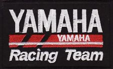 "Yamaha Racing Team 3 1/2"" Embroidered Iron On Motorcycle Car Patch *New*"