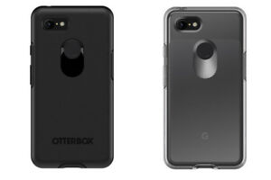 OTTERBOX SYMMETRY SERIES CASE COVER FOR GOOGLE PIXEL 3 / 3 XL BLACK / CLEAR