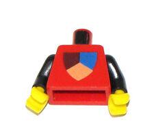 Lego Rare Vintage Classique Château Torse Bouclier Tri-Colored Motif
