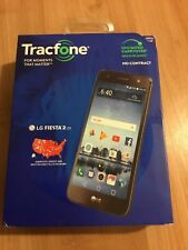 "TracFone LG Fiesta 2 4G LTE  5.5"" Android 7.0 Nougat 16GB Smartphone+$40 Airtime"