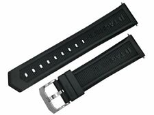 TAG HEUER FORMULA 1 22MM BLACK RUBBER WATCH BAND AUTHENTIC FACTORY ORIGINAL