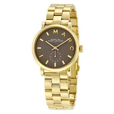 Marc by Marc Jacobs Baker Gold Tone Grey Watch MBM3281