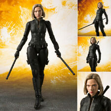 Avengers Infinity War Black Widow Figure S.H.Figuarts Toy Figurine Statue No Box