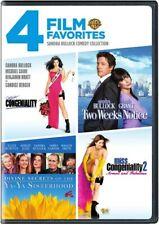 4 Film Favorites: Sandra Bullock Comedy Collection (Dvd)
