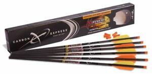 Carbon Express Mayhem 20-Inch Fletched Carbon Crossbolt/Crossbow Arrow with 3...