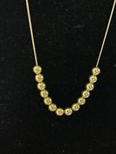 """Estate 14k Gold Add a Bead Necklace 18"""""""