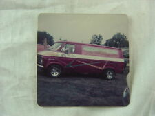 Vintage Photo circa 1975 Chevrolet Chevy Van Custom Paint 799