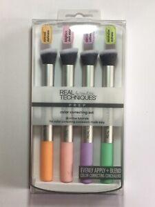 Real Techniques Prep Color Colour Correcting Set - 4 x Blending Concealer Brush