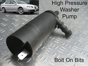 Headlamp/Headlight Washer Spray Cleaning Pump Alfa Romeo 166 Berlina 99 to 05