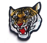 Tiger Big Cat Embroidered Sew Iron On Patch Applique Badge Lion Panther