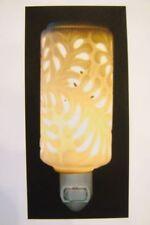 Electric Oil Burner Nightlight Flower Leaf Pattern REDUCED TO HALF PRICE
