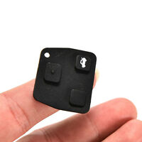 2x 3 Buttons Car Remote Key Case Rubber Pad For Toyota Corolla Lexus Hot BQHN
