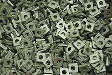 (200) Galvanized Malleable 1/4 Square Bevel Washers I-Beam Flange Wedge