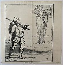 Lithographie, Chacun son tour, Actualités, Charivari, Daumier, LD 3807