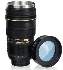 Lens Cup with Stainless Steel Insulated Tumbler, 1:1 Camera 24-70mm F2.8G Lens I