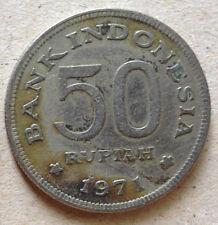 Indonesia 50 Rupiah coin 1971