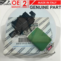 FOR VAUXHALL CORSA D 2006- ONWARDS GENUINE HEATER BLOWER MOTOR FAN RESISTOR ONLY