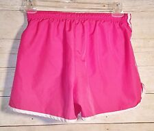 b92f912ac51e CHAMPIONS Pink Summer Comfortable Work out Lined Adjustable Waist Shorts Sz  Med
