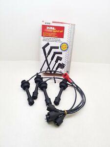 4101D Dura Spark - 5mm Black - Spark Plug Wire Set Duel Conductor Carbon Core