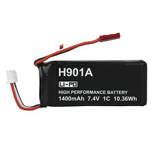1*1400mAh 7.4V 1C  Lipo Battery For Drone Hubsan H107D+ H502S H501S Spare Parts